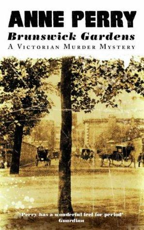 BRUNSWICK GARDENS and HALF MOON STREET Anne Perry a lot of 9 Paperback Mysteries