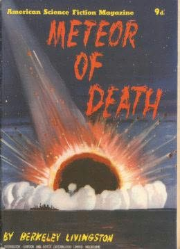 book cover of Meteor of Death