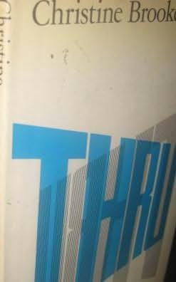 book cover of Thru