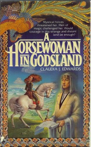 book cover of A Horsewoman in Godsland