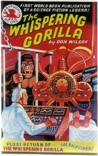 book cover of The Whispering Gorilla