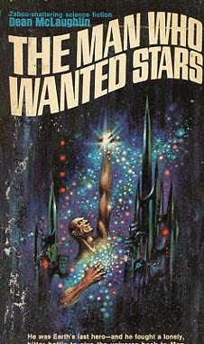 book cover of The Man Who Wanted Stars
