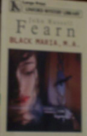 book cover of Black Maria, MA