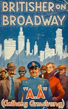 book cover of Britisher On Broadway