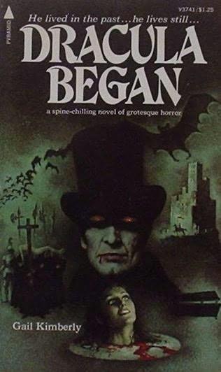 book cover of Dracula Began