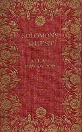 book cover of Solomon\'s Quest