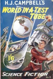 book cover of World in a Test Tube