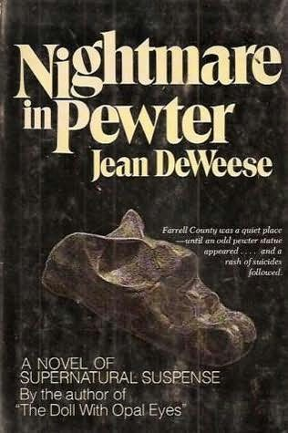 book cover of Nightmare in Pewter