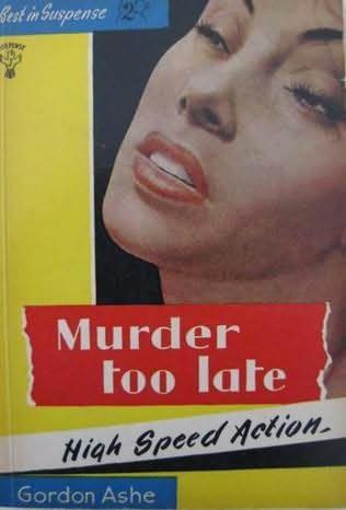 book cover of Murder Too Late