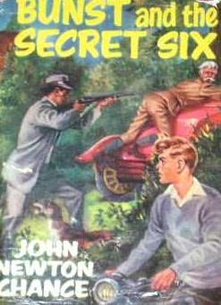 book cover of Bunst and the Secret Six