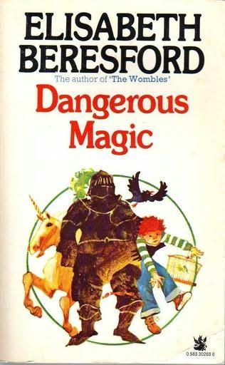 book cover of Dangerous Magic