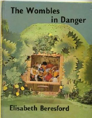 book cover of The Wombles in Danger
