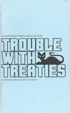 book cover of Trouble With Treaties