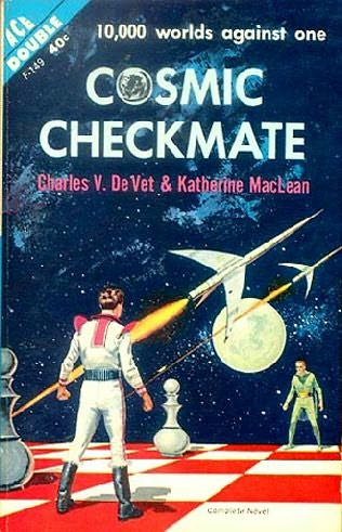 book cover of Cosmic Checkmate