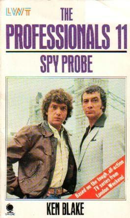 book cover of Spy Probe
