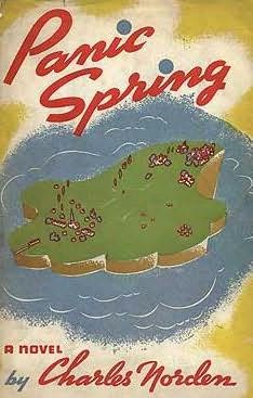 book cover of Panic Spring