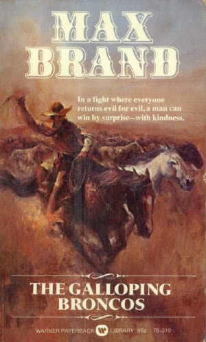 book cover of The Galloping Broncos