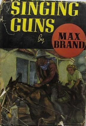 book cover of Singing Guns