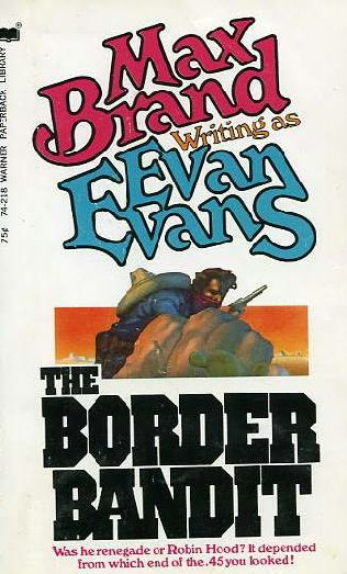 book cover of The Border Bandit