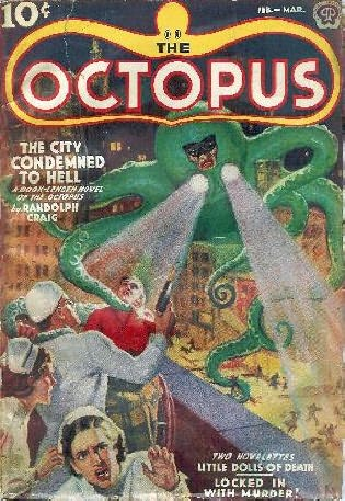 book cover of The Octopus