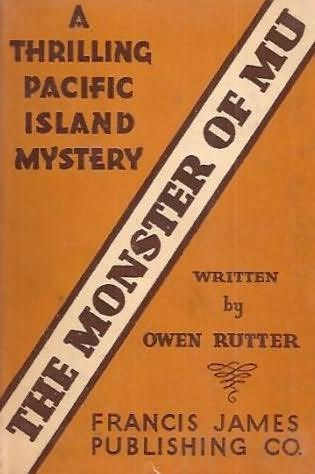 book cover of The Monster of Mu