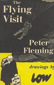 book cover of The Flying Visit