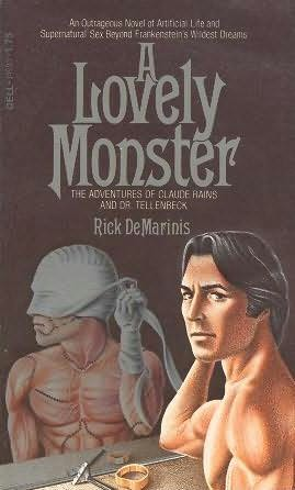 book cover of A Lovely Monster