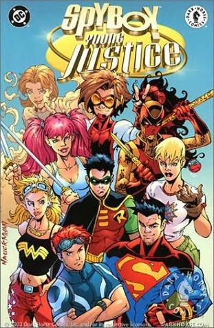 book cover of Young Justice (Spyboy) by Peter David