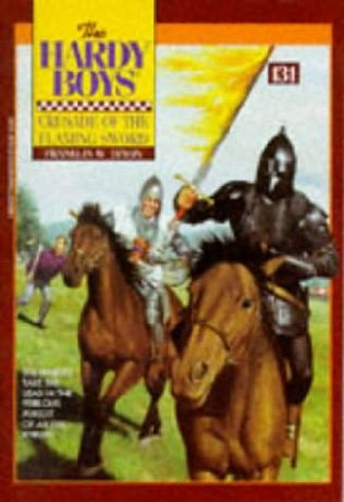 book cover of Crusade of the Flaming Sword