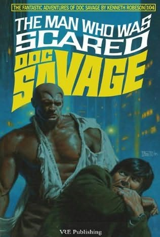 book cover of The Man Who Was Scared