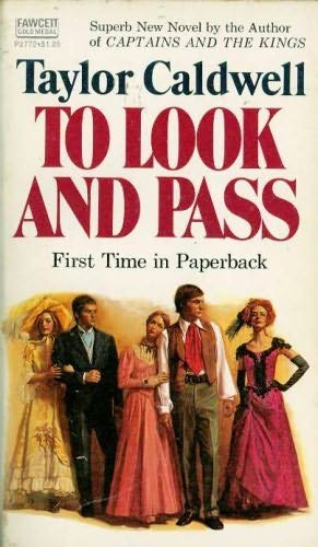 book cover of To Look and Pass