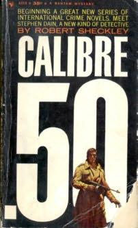 book cover of Calibre .50