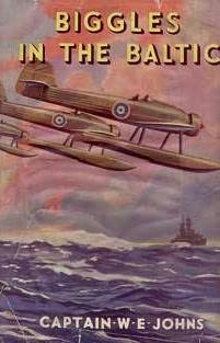 book cover of Biggles in the Baltic