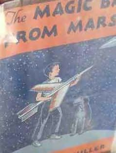 book cover of The Magic Ball From Mars