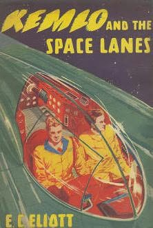 book cover of Kemlo and the Space Lanes
