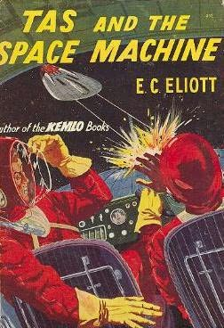 book cover of Tas and the Space Machine