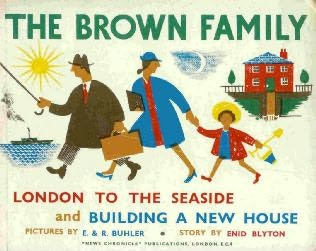 book cover of The Brown Family