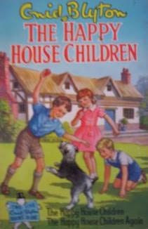 book cover of The Happy House Children
