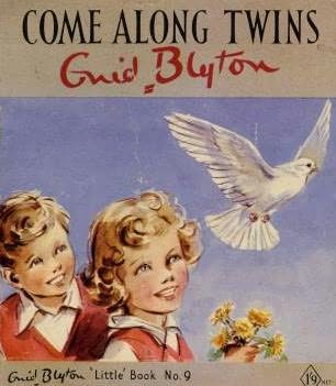 book cover of Come Along Twins