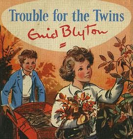 book cover of Trouble for the Twins