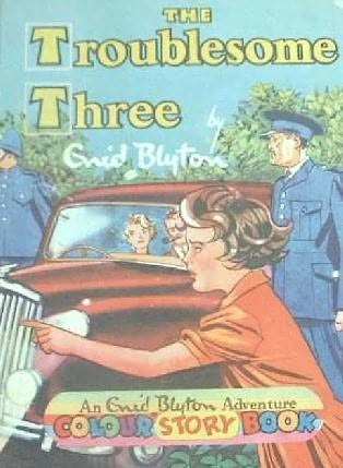book cover of The Troublesome Three