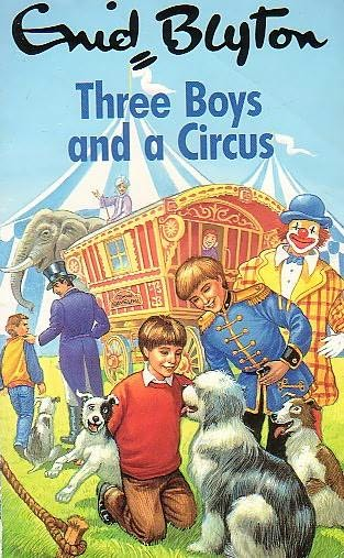 book cover of Three Boys and a Circus