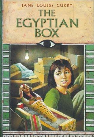 book cover of The Egyptian Box