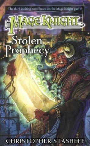 book cover of Stolen Prophecy