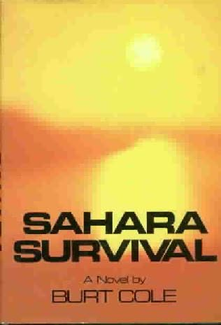 book cover of Sahara Survival