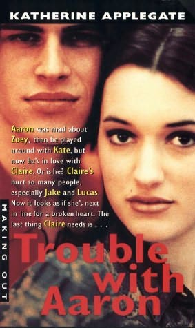 book cover of Trouble with Aaron