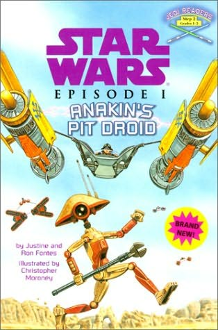 book cover of Anakin\'s Pit Droid