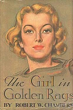 book cover of The Girl in Golden Rags