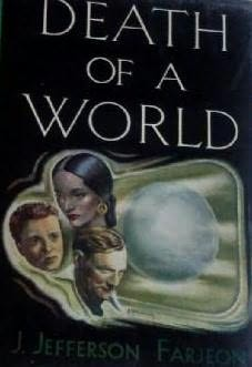 book cover of Death of a World