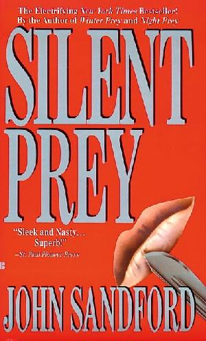 book cover of  Silent Prey   (Lucas Davenport, book 4) by John Sandford